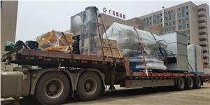 卧式碳化炉设备发货