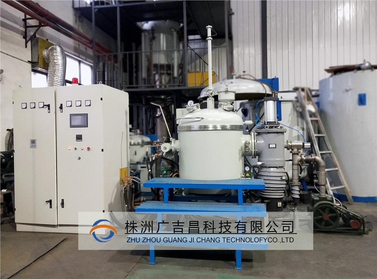 25KG真空熔炼炉设备发货